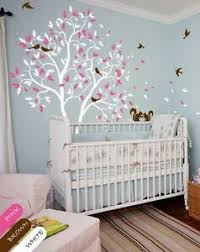 White Tree Wall Decal Pink Leaves Squirrel Nursery Wall Decal Kids Room Kr050 Ebay