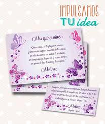 Tarjeta De 15 Para Imprimir Invitacion Y Personal Melina 355