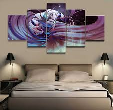 5 Piece Hd Picture Dota 2 Game Poster Wall Sticker Game Paintings Artwork Canvas Art For Home Decor Wall Art Painting Calligraphy Aliexpress