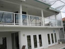 glass railings in cape c fl