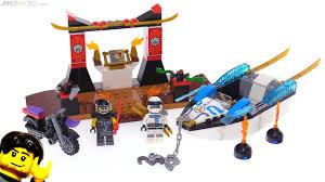 LEGO Ninjago (Juniors) Zane's Ninja Boat Pursuit review! 10755 ...
