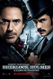 Poster from the film Sherlock Holmes A Game Of Shadows | Holmes movie, Sherlock  holmes, Sherlock