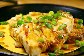 Grilled Coconut Curry Halibut