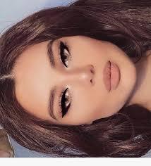 cute full face makeup