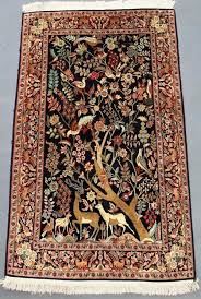 antiques atlas kashmir silk carpet