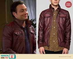 josh s burdy leather jacket on young