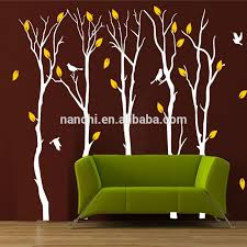 5 Aspen Yellow Leaf Tree Wall Stickers Home Decoration Living Room Bedroom Tv Background Wall Decals Papers Buy 5 Aspen Yellow Leaf Tree Wall Stickers Living Room Bedroom Decor Wallpapers Home Decoration Removable