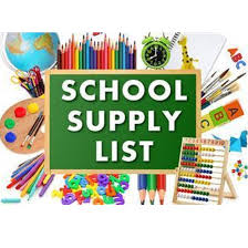 Supply Lists - Peshtigo Middle School - Peshtigo Middle/High School