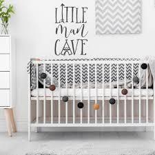 Little Man Cave Nursery Decal Baby Boy Nursery Kids Room Wall Decals Woodland Pattern Removable Home Decoration L822 Buy At The Price Of 5 98 In Aliexpress Com Imall Com