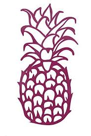 Custom Vinyl Pine Apple Decal Pineapple Bumper Sticker For Tumblers Laptops Car Windows Tropical Beach Design Choose Color And Size Wickedgoodz