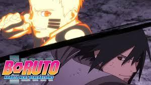 Naruto and Sasuke vs Momoshiki   Boruto: Naruto Next Generations - YouTube