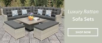 luxury garden furniture for