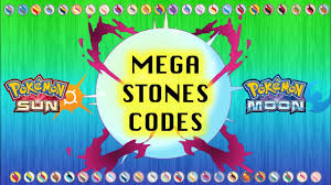 All Mega Stones in Pokémon Sun and Moon (Codes & Locations) - YouTube