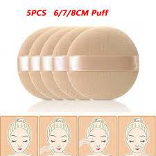 5pcs foundation pads sponge powder puff