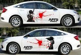 Afro Samurai Anime Car Side Door Graphics Decal Vinyl Sticker Manga Fit Any Car Ebay