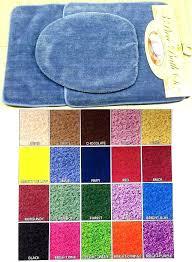 contour bathroom rugs