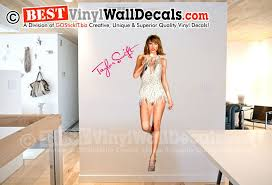 Taylor Swift Life Size Digital Vinyl Wall Decal Taylor Swift Vinyl Wall Decals Wall Decals