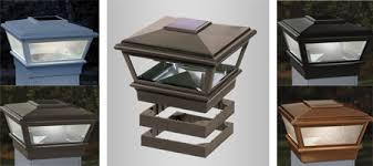 Versacap 4x4 High Point Copper Solar Post Cap