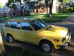 1975 honda civic cvcc wagon