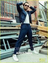 sebastian stan covers august man