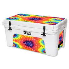 Mightyskins Protective Vinyl Skin Decal For Yeti Tundra 65 Qt Cooler Wrap Cover Sticker Skins Tie Dye 2 Walmart Com Walmart Com