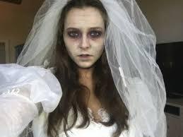 zombie bride last minute halloween