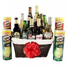 beers pringles beer gift basket