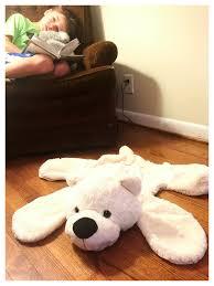 how to make a diy bear rug nursery