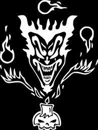 Jp Vinyl Design Icp Insane Clown Posse Riddle Box Logo Vinyl Decal 20 White Pnnonononoaeraear