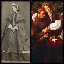 Effie Gray/Ruskin/Millais in Pease Concluded 1856 by John Everett Millais    Pre raphaelite, Effie gray, Beautiful paintings