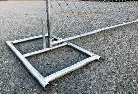 Amazon Com Base Stand For Galvanized Steel Temporary Fencing Panel Home Improvement