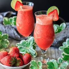 the best virgin strawberry daiquiri you