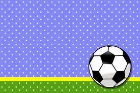 Futbol Tarjetas O Invitaciones Para Imprimir Gratis Etiquetas