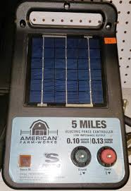 American Farm Works Esp5maf R1 5 Mile Solar Low Impedance Electric Fen Buy Sell Outlet