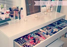 my makeup storage ikea malm dressing