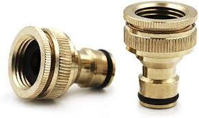 yips brass hose connector 2 pack