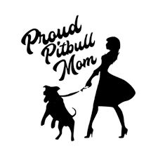 2020 16 14 5cm Proud Pitbull Mom With Dog Window Decal Lovely Humour Car Accessories Motorcycle Helmet Car Styling Car Sticker From Xymy797 4 63 Dhgate Com