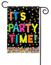 it s party time breezeart flag 12 5