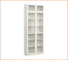 lovely tall bookcase with doors 33