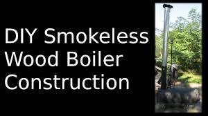 diy wood boiler how to you