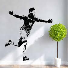 Neymar Jr Brazil Football Vinyl Wall Art Decal