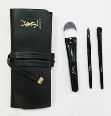 ysl yves saint lau makeup brushes set
