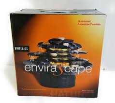 homedics envirascape illuminated rock
