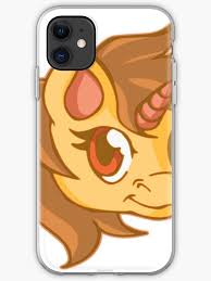 Brown Gold Girl Unicorn Sticker Decal Iphone Case Cover By Unicorncool Redbubble