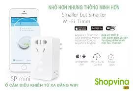 Ổ cắm điện điều khiển từ xa Wifi và hẹn giờ Broadlink ( Nhập khẩu)
