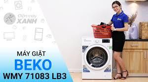 Máy giặt sấy Beko WDW85143 8KG, Giá tháng 8/2020