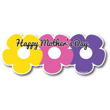 Happy Mother S Day Pink Purple And Yellow Flower Bouquet Car Magnet 8x3 Decal Heavy Duty For Car Truck Suv Walmart Com Walmart Com