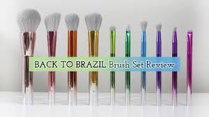 take me back to brazil brush set review
