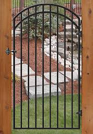 Iron Gate No Pickets Vanduzen Fence Post