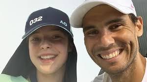 Australian Open: Rafael Nadal's beautiful ball girl Instagram pic